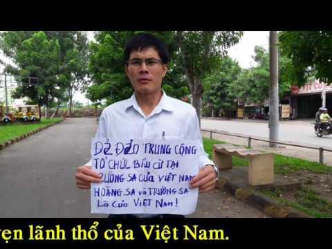Người dân Việt Nam kêu gọi chống Trung Quốc xâm lược Việt Nam