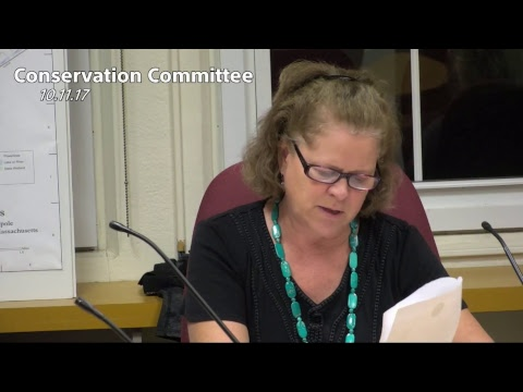 Conservation Committee - 10.11.17