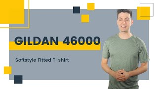 Gildan 46000 Softstyle Fitted T-shirt | Blankapparel.ca