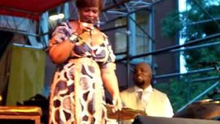 "Dianne Reeves ""Better Days"" live @ SSJ  Fest Chicago 8 / 8/2010"