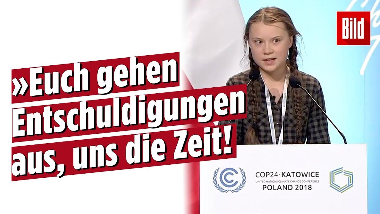 15 Jährige Hält Ehrlichste Rede Beim Eu Klimagipfel Greta Thunberg From Climate Justice Now