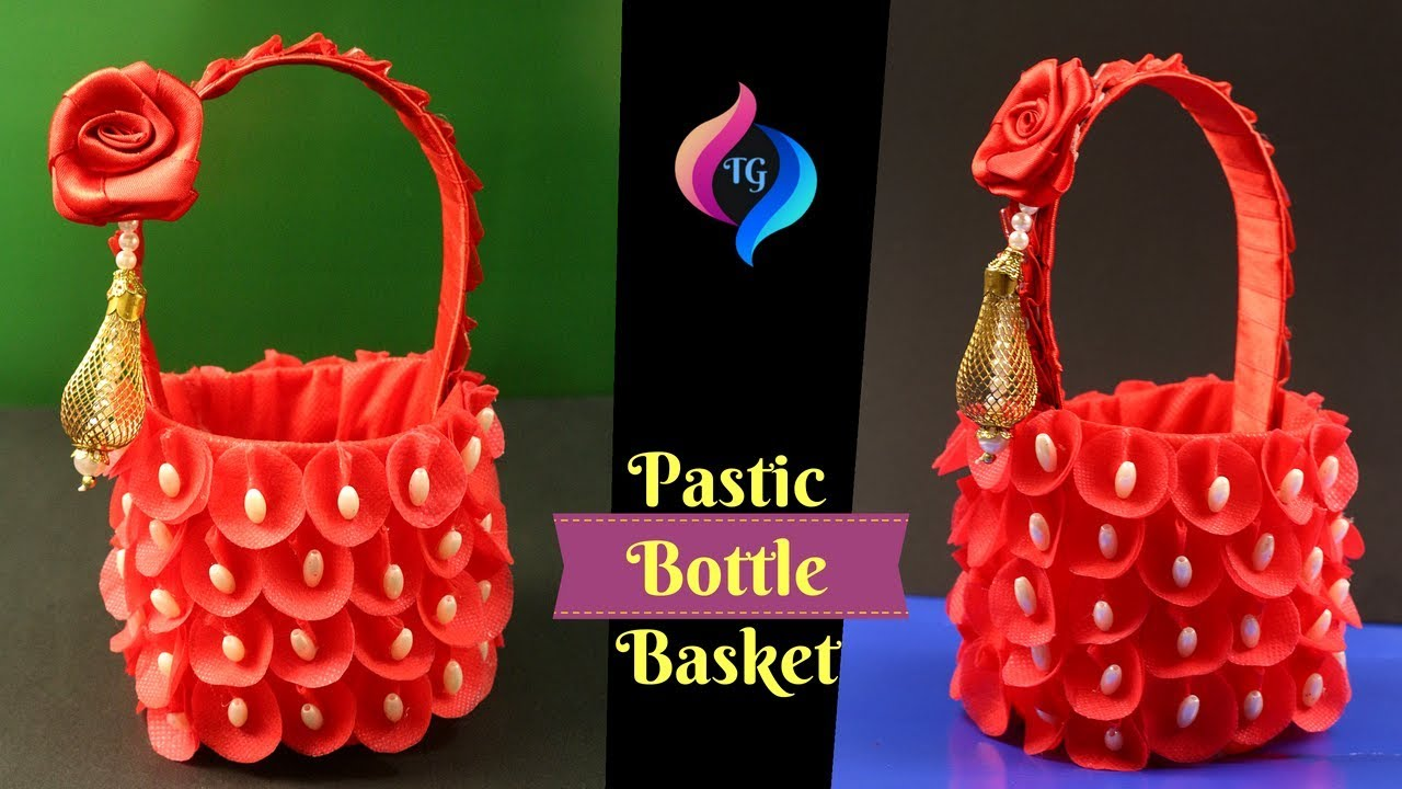 How To Make Basket From Best Out Of Waste Easy Things Made From