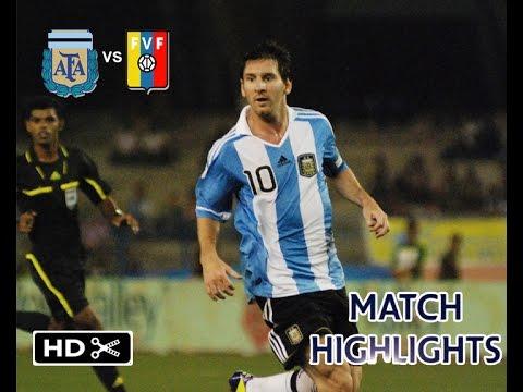 Argentina vs Venezuela 1-0 All Goals and Highlights at Salt Lake Stadium [HD]