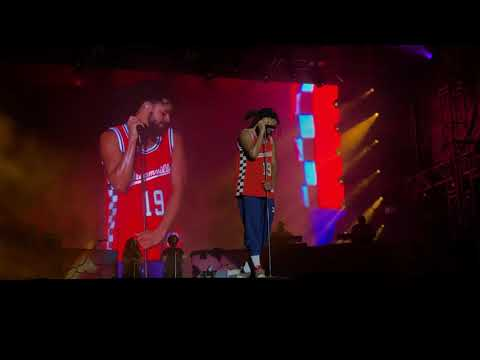 8 Work Out & Can't Get Enough J. Cole (FULL HD SET @ Dreamville Festival 2019 Raleigh, NC)