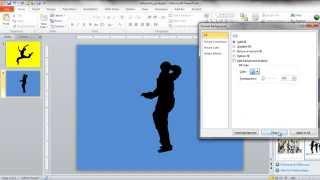Dans Siluet Apple Reklam Görüntüsü oluşturmak