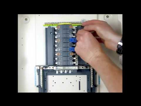 Wylex Split Load Consumer Unit Wiring Diagram 7 Pin Plug Australia How To Fit Distributed Neutral Links In A Three Phase Distributionwylex