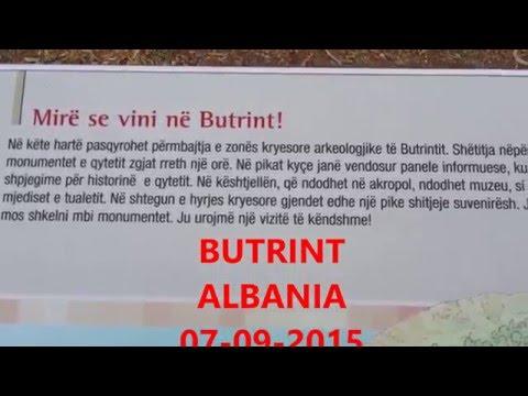 BUTRINT ALBANIA 1 -3 Dokumentar