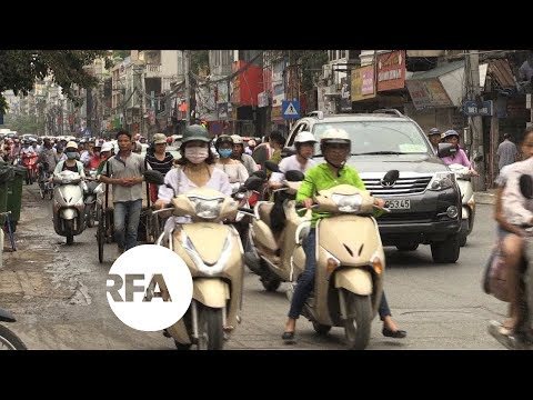 Hanoi to Ban Motorcycles by 2030 to Curb Pollution, Traffic | Radio Free Asia (RFA)