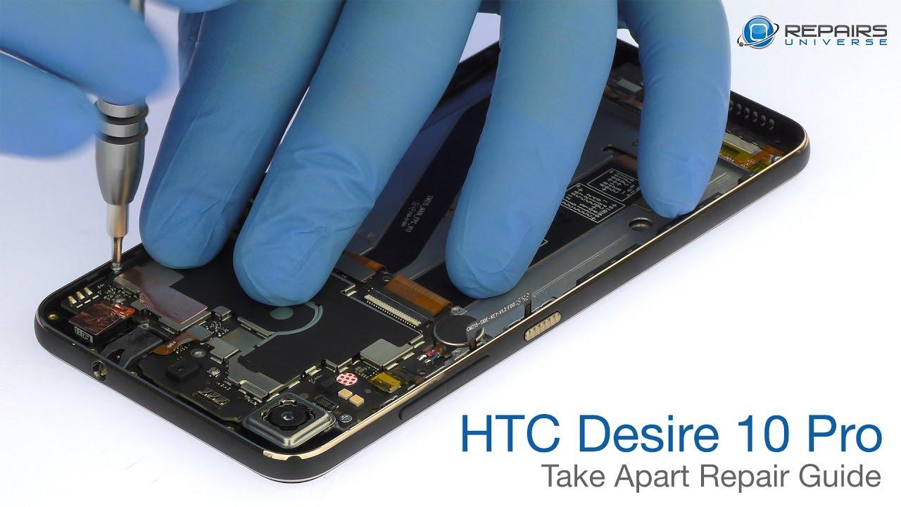 HTC Desire 10 Pro Take Apart Repair Guide