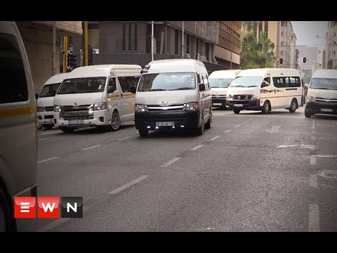 Mass taxi strike leaves Johannesburg Central Business District deadlocked
