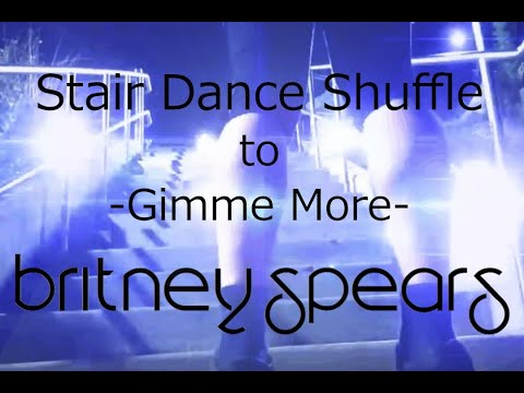 Stair Shuffle Turns to Britney Spears - Gimme More - Remix