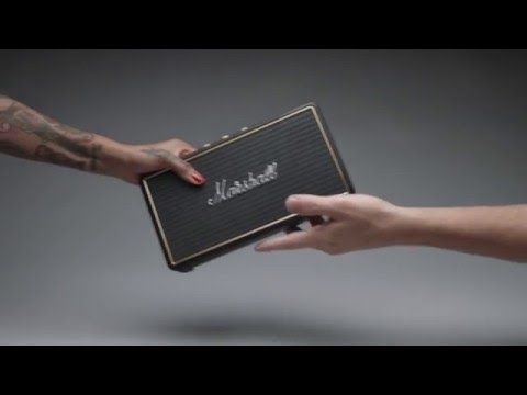 MARSHALL Stockwell : l'enceinte portative compacte vintage en station d'écoute (La Boite Noire)
