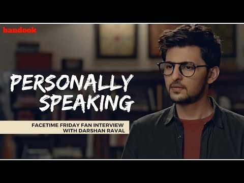 'Personally Speaking' With Darshan Raval | bandook EXCLUSIVE