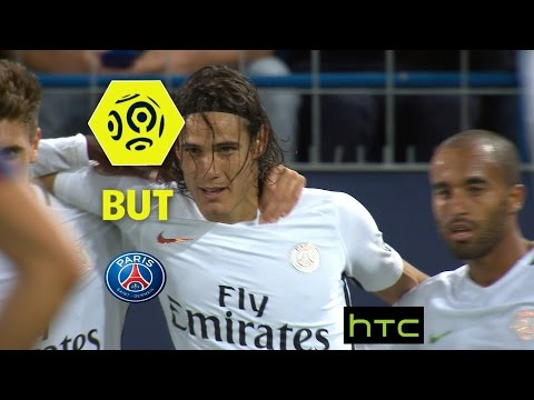 But Edinson CAVANI (45' +1) / SM Caen - Paris Saint-Germain (0-6) -  / 2016-17