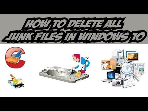 How to delete all Junk Files on Windows 10| in Tamil
