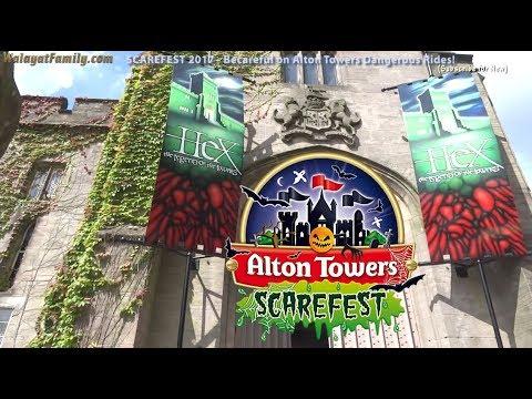 SCAREFEST 2017 - Take Care on Alton Towers Dangerous Rides!