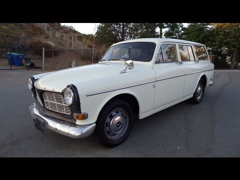 1967 Volvo Amazon 122S Station Wagon B18 Dual Carb Estate Break Test Drive Video Review