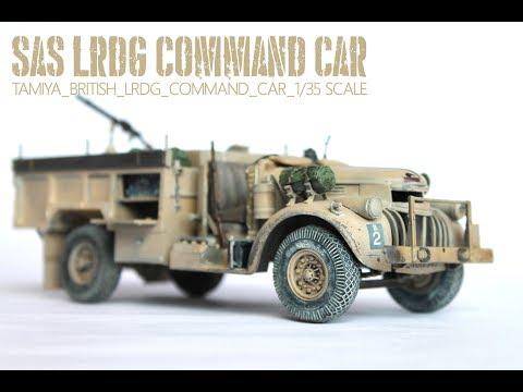 Tamiya British LRDG Command Car 1/35 | The Inner Nerd