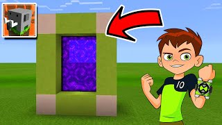 How to Make a PORTAL to BEN 10 in Craftsman: Building Craft