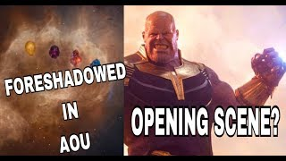Opening of Infinity War Foreshadowed in Age of Ultron Theory Explained