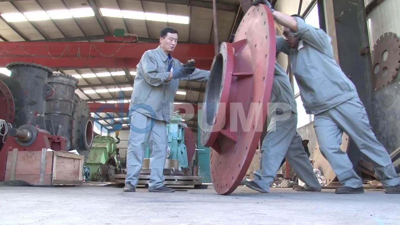 Sand Dredge Pump---18' inch dredge pump assembly process