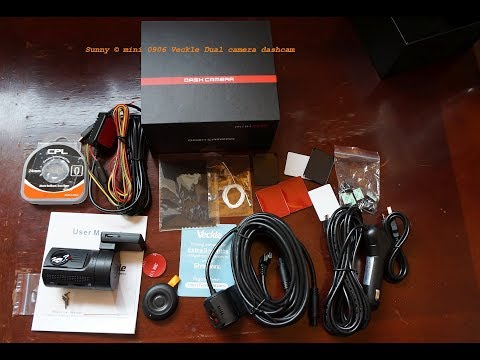 Unboxing Mini 0906 Dual 1080p Dashcam From Veckle With Sample Day Videos