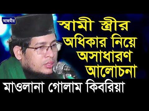 মাওলানা গোলাম কিবরিয়া | Mawlana Golam Kibria | স্বামী স্ত্রীর অধিকার | Bangla Waz 2018