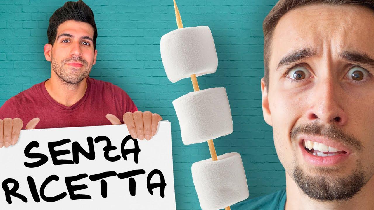 CUCINIAMO SENZA RICETTA I MARSHMALLOW!! Sfida VS @Giovanni Fois  e @Matteo Di Cola
