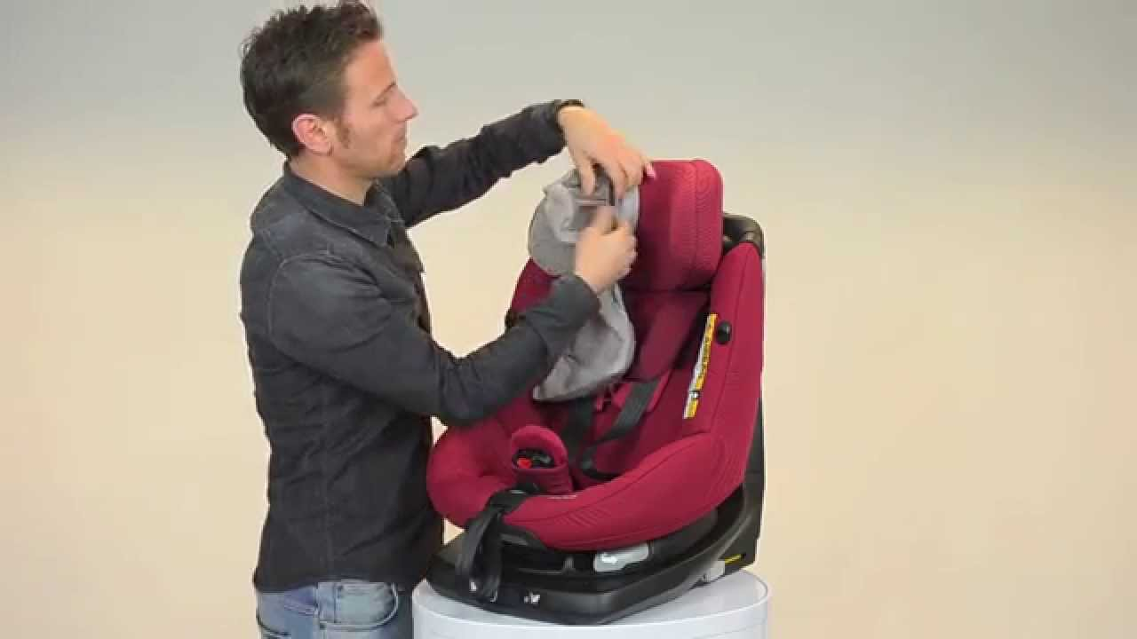 Maxi Cosi How To Install The Summer Cover Axissfix Youtube