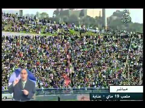 Algérie -  Maroc EN DIRECT  stade de Annaba