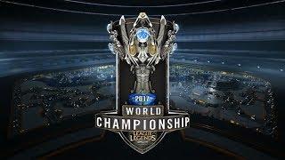 SKT vs C9 - TSM vs. WE   2017 World Championship: Group Stage [Rebroadcast]