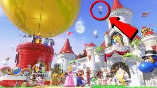 Super Mario Odyssey - All Endings + New 100% Ending