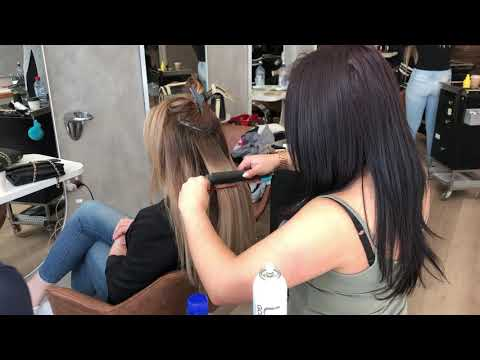 Sydney Hair Extension Masterclass - Flat Track And LA Weave Hair Extensions