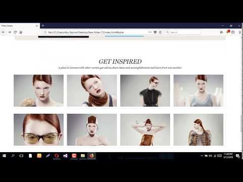 How To Design Responsive Landing One Page for|Themeforest/Envato Market Quality|2018