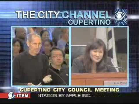 STEVE JOBS LAST APPEARANCE_ Presentation to the Cupertino City Council (June 7, 2011) - YouTube.flv