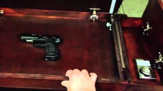 Diy Secret Compartment Drawer For Gun