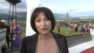 Fake Bake at The Scottish Fashion Awards 2009, Stirling Castle Red Carpet2 Thumbnail