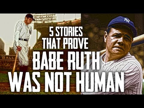 5 Stories That Prove Babe Ruth WAS NOT HUMAN!