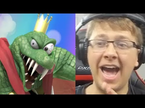 REACTING TO KING K ROOL IN SMASH BROS ULTIMATE, SIMON BELMONT, SHOVEL KNIGHT