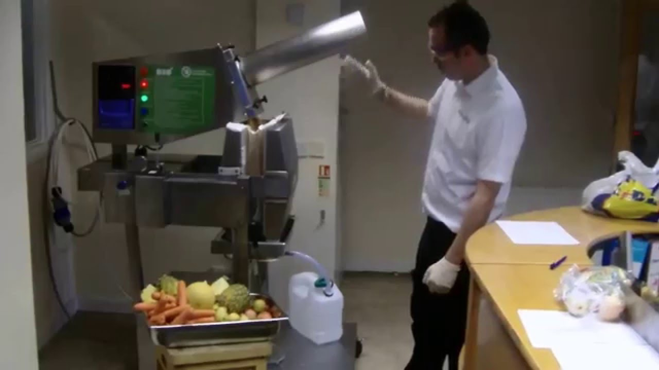 Bio Commercial Cold Press Juicer Manufactured In The U K