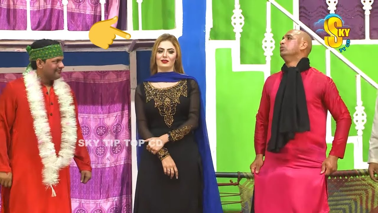 Imran Shoki with Deedar Multani and Shoka Shahkotia | full HD Stage Drama Posti | Comedy Clip 2020