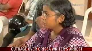 Orissa cops muzzle writer; spark furore