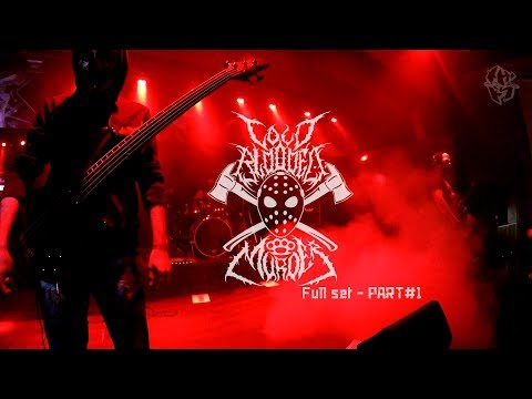 COLD BLOODED MURDER - Full set PART#1 (live in Moscow) streaming vf