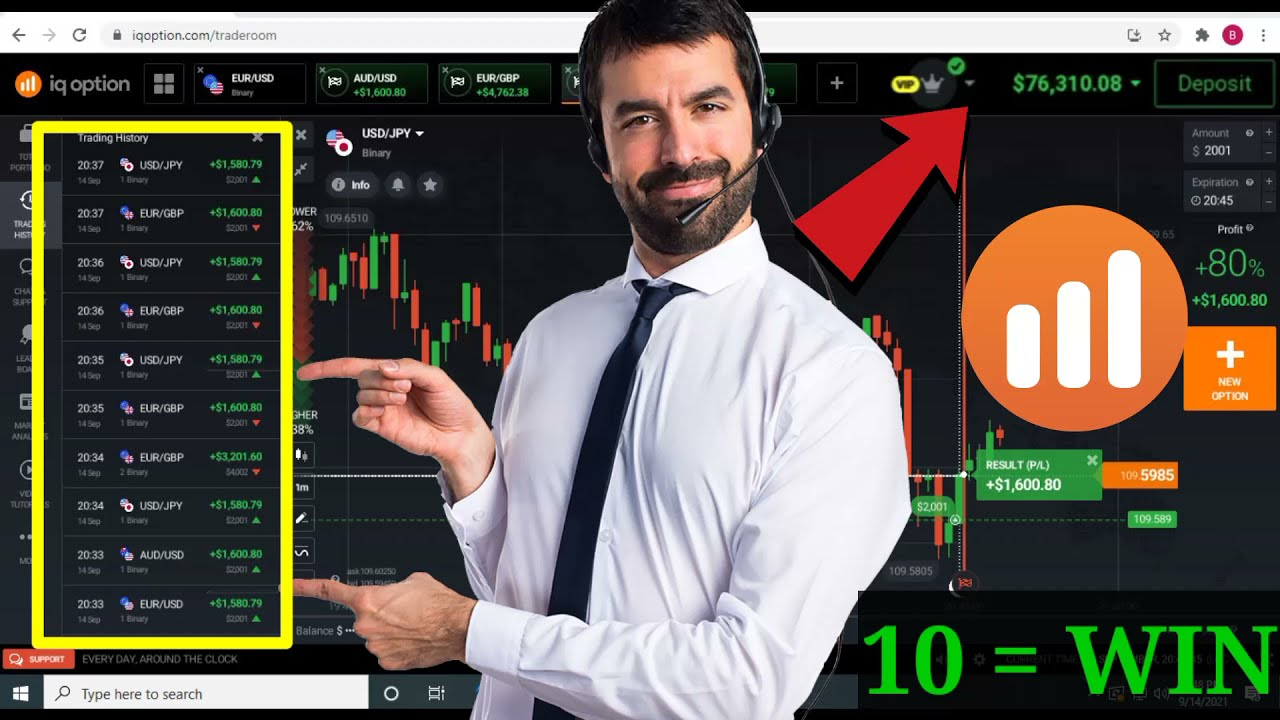 Iq option $4380.00 profit , Binary options trading IQ option One minute strategy   Iq option broker