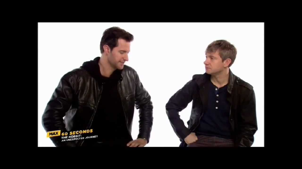 My New Addiction: Favorite Moments of 60 Seconds with Richard Armitage and Martin Freeman