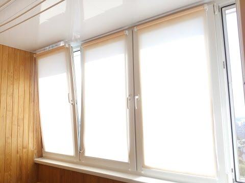 Рулонные шторы на окна МИНУСЫ и ПЛЮСЫ