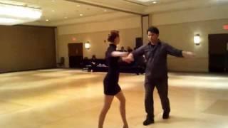 "Shari Mocheit and Niko ""Suave"" Salgado Social Dancing"