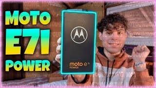 Llego el MOTO E7i Power