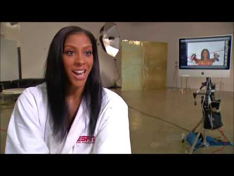 Candace Parker ESPN Body Issue photoshoot