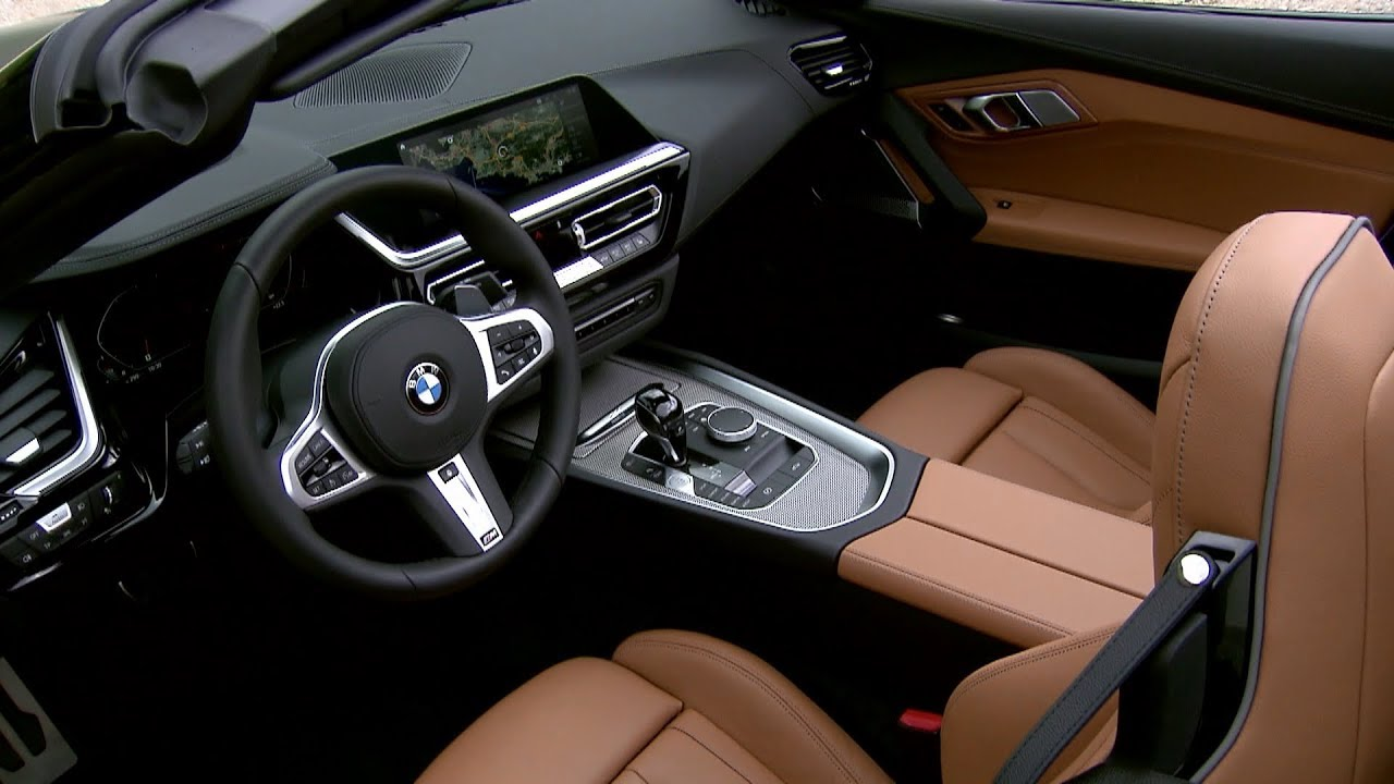 Bmw Z4 Interior Car Design Today
